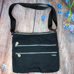 VINTAGE Original Baggallini Black Crossbody Bag